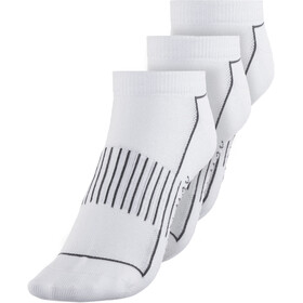 Endura Coolmax Stripe Calcetines Pack de 3 Mujer, white